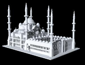 3D Baskı - Cami Görseli